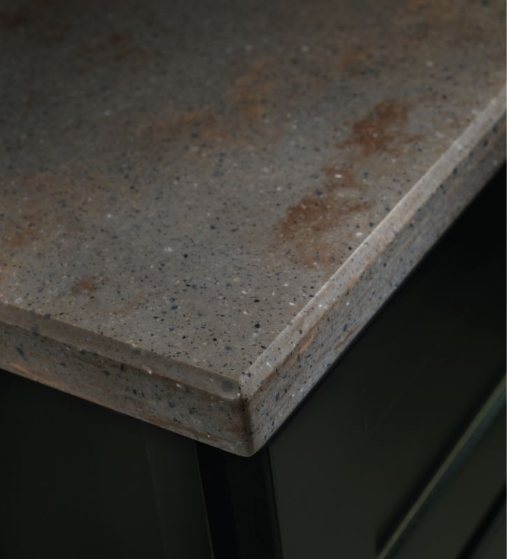 granite kitchen countertops cost with Edge Types on Budget Kitchen Makeovers likewise Small Kitchen L Shape Design also White Granite Countertops in addition Edge Types also Glass Kitchen Countertops.