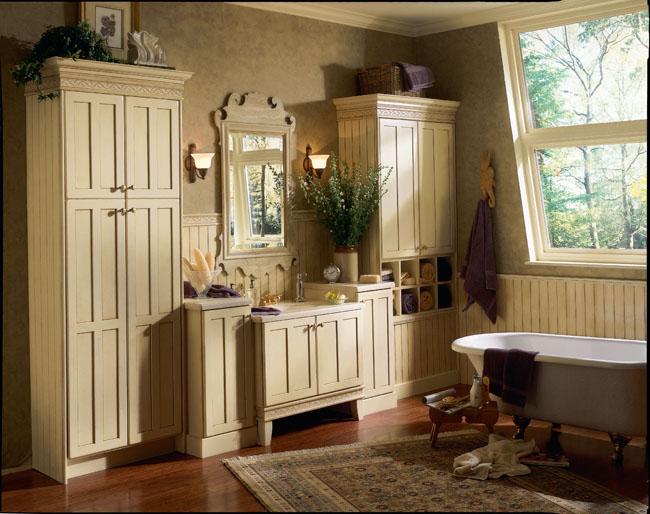 Antique Bathroom Design: Bathroom Vanities
