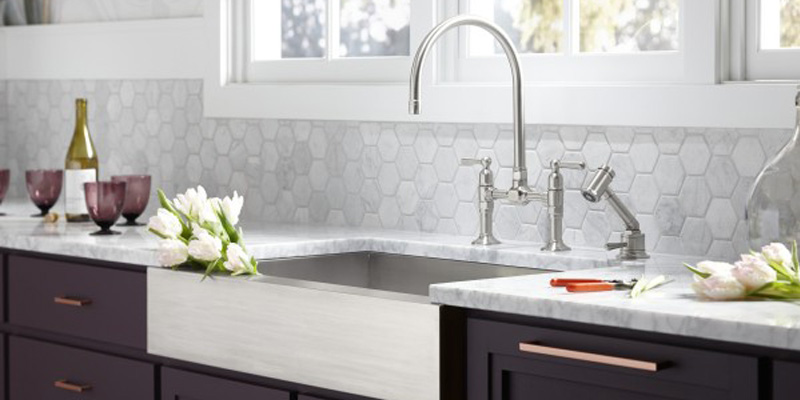 Faucets, Sinks and Showers for Kitchen and Bathroom