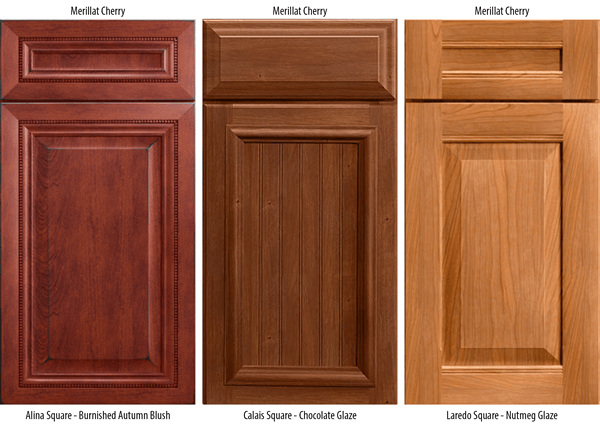 Walnut Vs Cherry Kitchen Cabinets