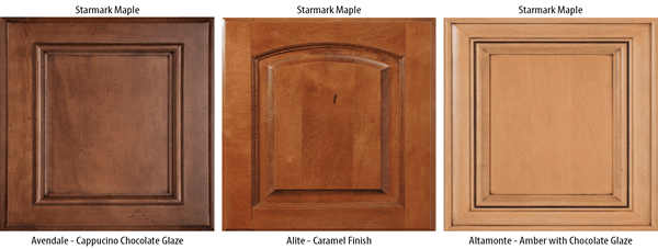 What wood grain says about your cabinets for Cherry vs maple kitchen cabinets