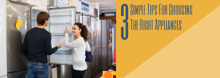3 simple tips for choosing the right appliances - Choosing right freezer ...