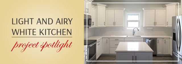 Project Spotlight ? Light and Airy White Kitchen