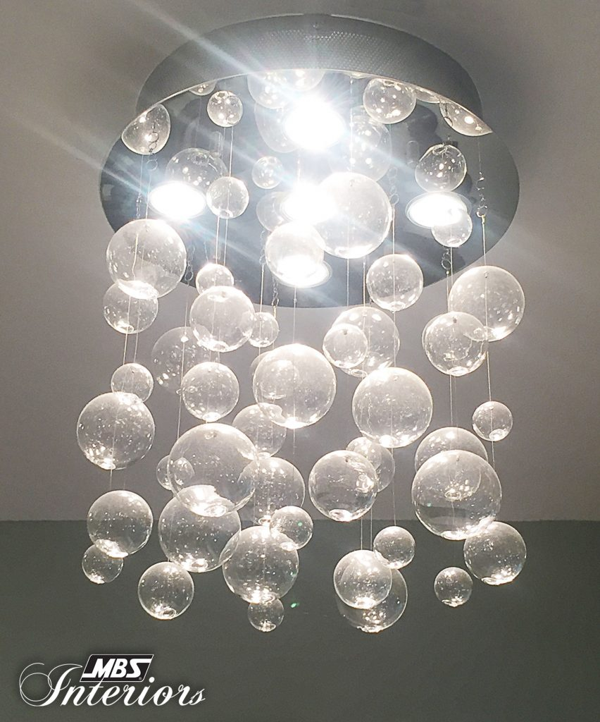 Contemporary Orb Chandelier