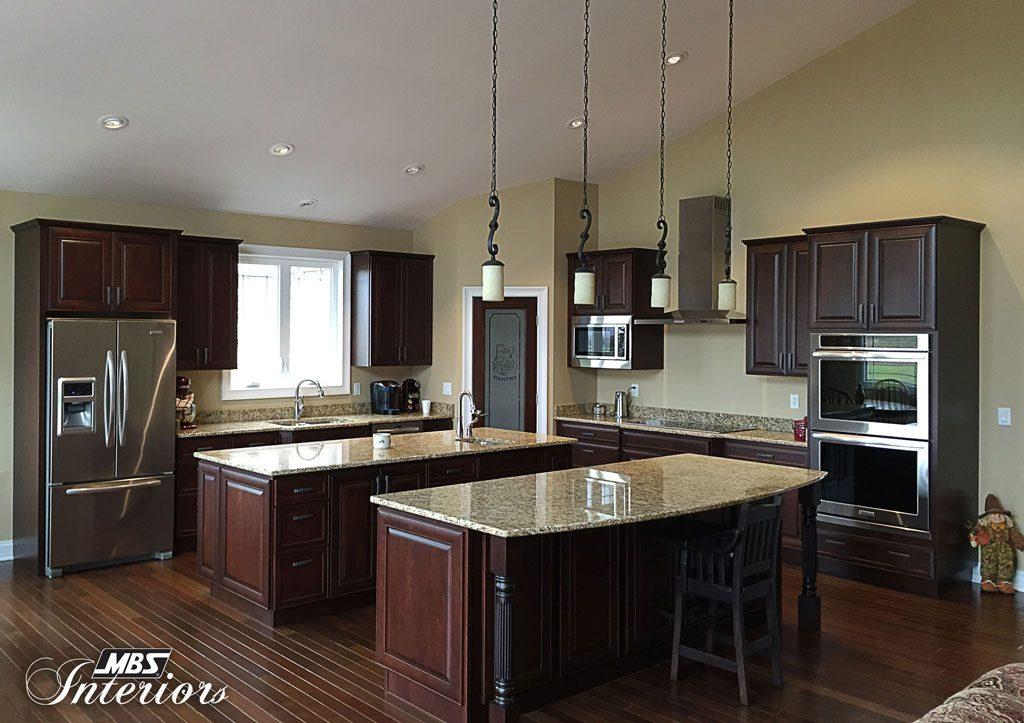 Dual Island Kitchen