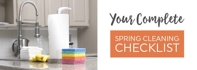 Your Complete Spring Cleaning Checklist
