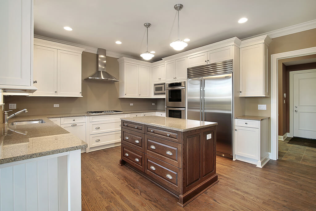Cabinet styles the differences between stock semi custom for Semi custom kitchen cabinets