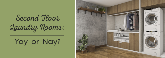 Second Floor Laundry Rooms: Yay or Nay?