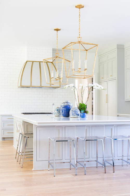 Kitchen Pendants To Inspire Your Remodel MBS Interiors - Gold kitchen pendants