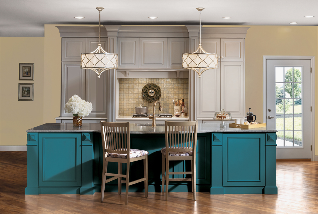 Our Favorite Custom Colored Cabinetry