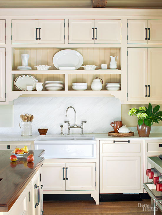 How To Coordinate White And Cream In The Kitchen Mbs