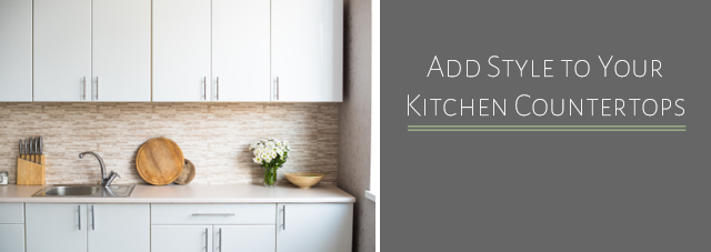 Add Style to Your Kitchen Countertops